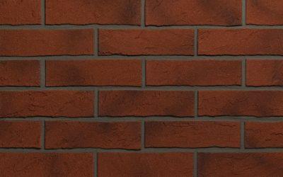 fasadinės plytelės, sendinta plyta imitacija