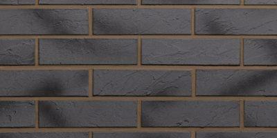 fasadines plytelės, klinkeris tamsiai pilkas