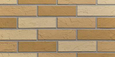 Lanksčios fasado plytelės, spalva 3 smiltainiai, klijai light grey