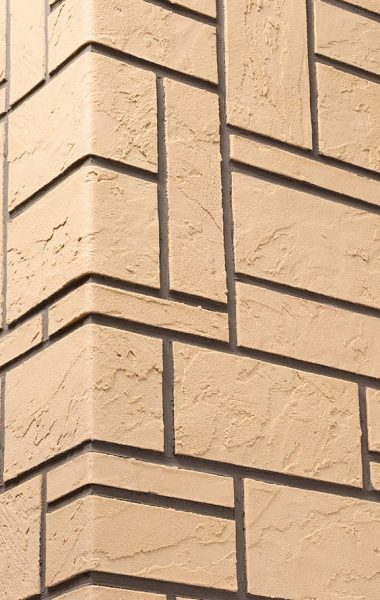 Izoflex lanksčios fasado plytelės, lankstus klinkeris, Akmens mozaika