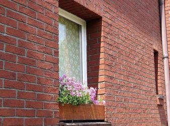 Izoflex fasado plytelės, Sena Plytas spalva 105 1