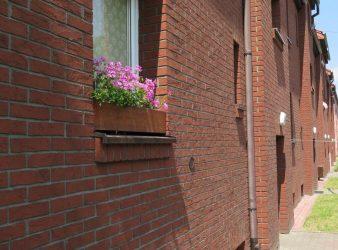 Izoflex fasado plytelės, Sena Plytas spalva 105 10