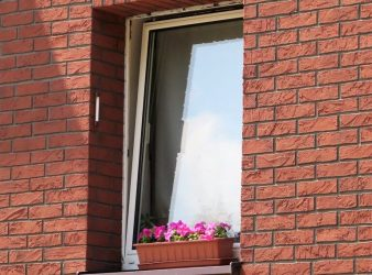 Izoflex fasado plytelės, Sena Plytas spalva 105 7