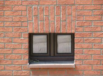 Izoflex fasado plytelės, Sena Plytas spalva 105 8