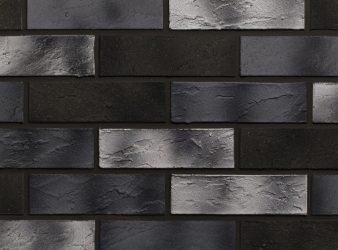 lankstus klinkeris, juodos fasadinės plytelės