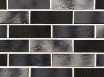 lanksčios fasadinės plytelės, juodas klinkeris