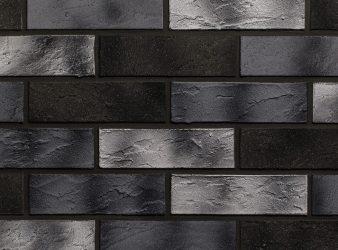 lanksčiops fasadinės plytelės, juodos plytelės
