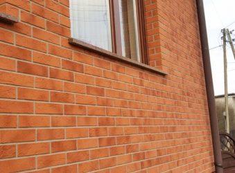 klinkerio imitacija fasadas